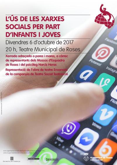 Xerrada per a pares sobre l'ús de les xarxes socials per part d'infants i joves