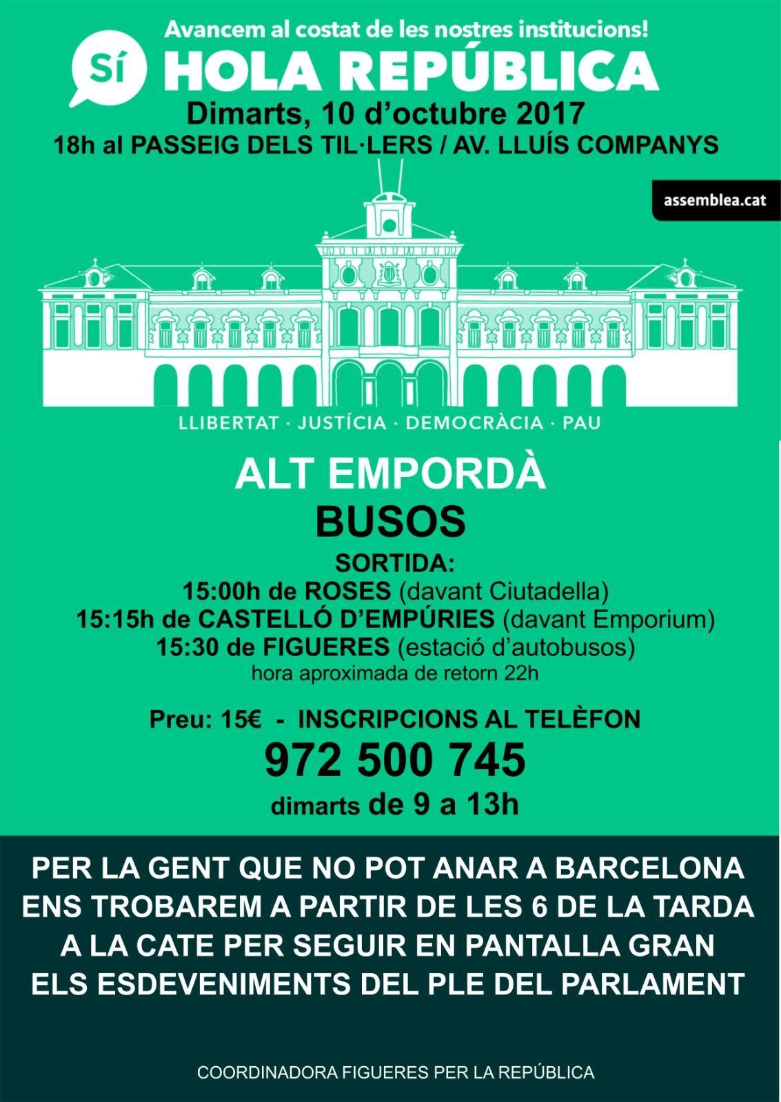 L'ANC fa una crida per recolzar la declaració d'Independència demà a Barcelona