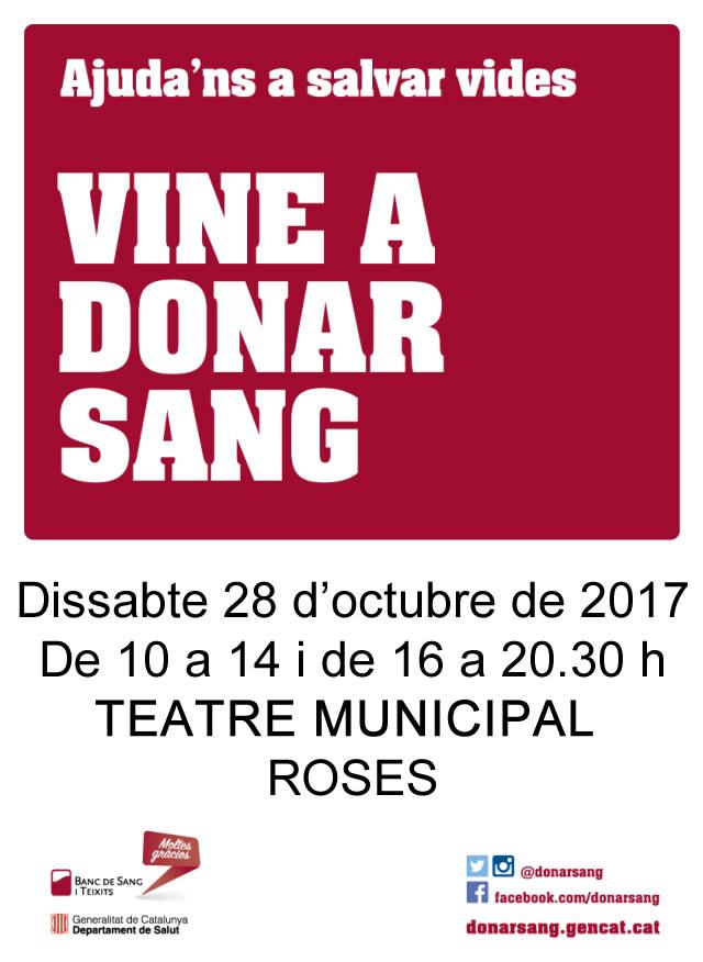 14 nous donants durant la jornada de donació de sang a Roses