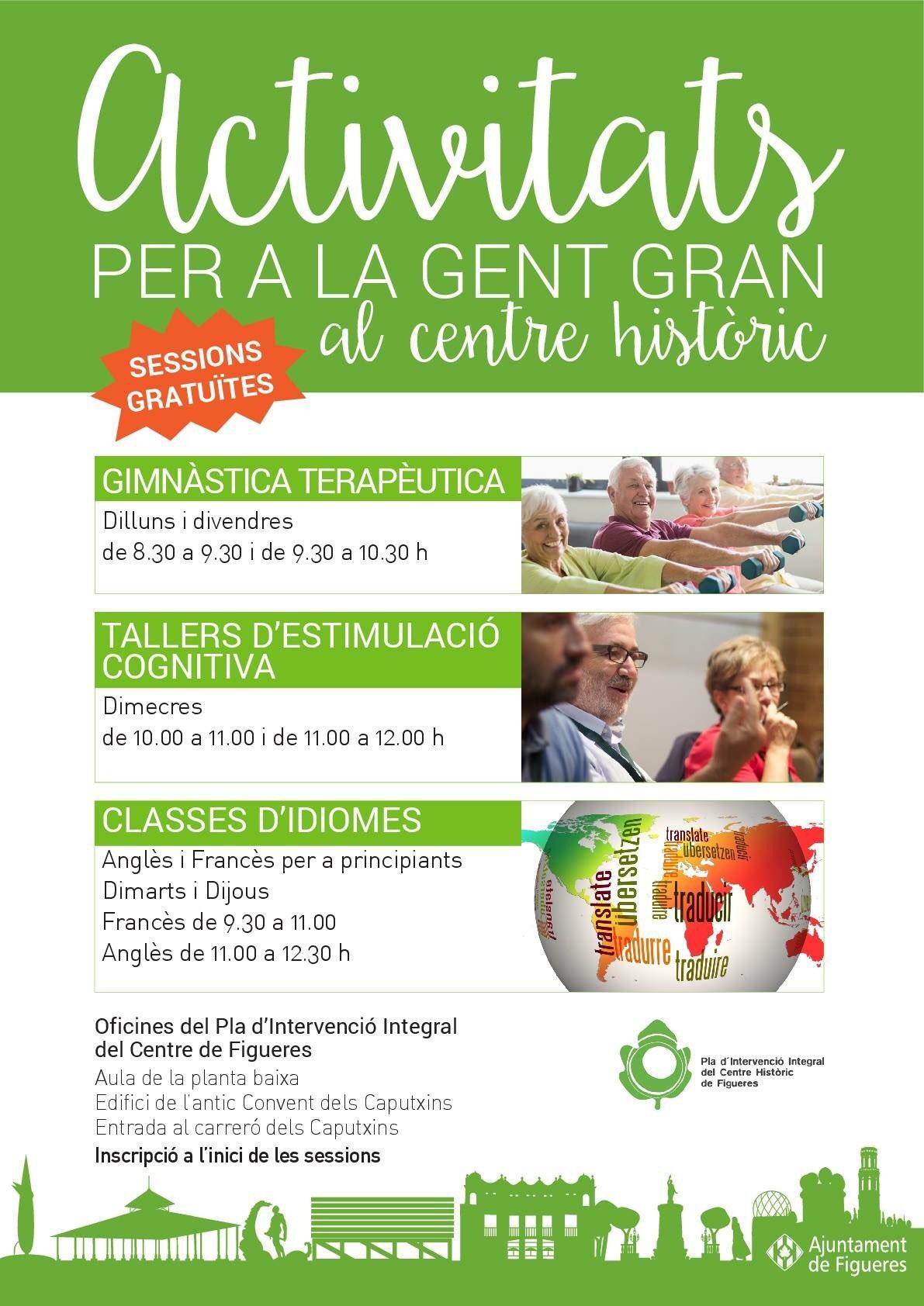 Activitats per a la Gent Gran a Figueres