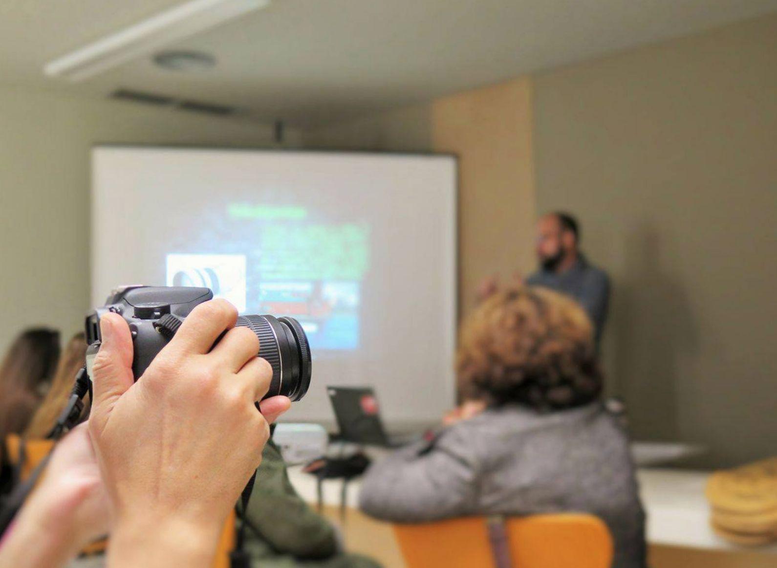 Tardor de cinema, televisió, fotografia i astres a Ca l'Anita