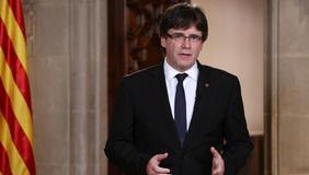 """President Puigdemont: """"El rei fa seu el discurs i les polítiques del govern Rajoy que han estat catastròfiques per Catalunya"""""""