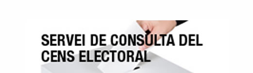 Exposició de les llistes del cens electoral per al Parlament de Catalunya 2017