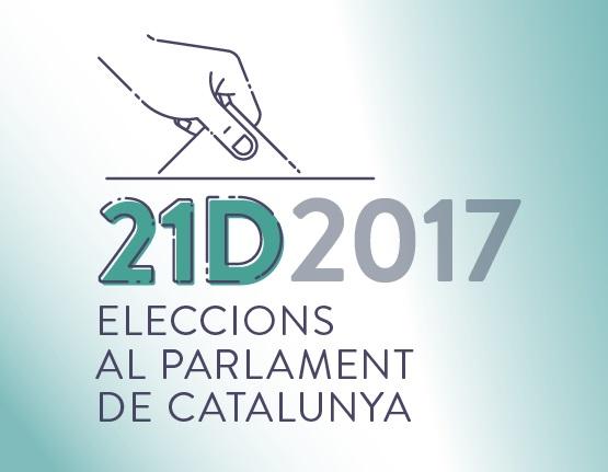 Campanya informativa de les eleccions del 21D (vot per correu i amb discapacitat visual)