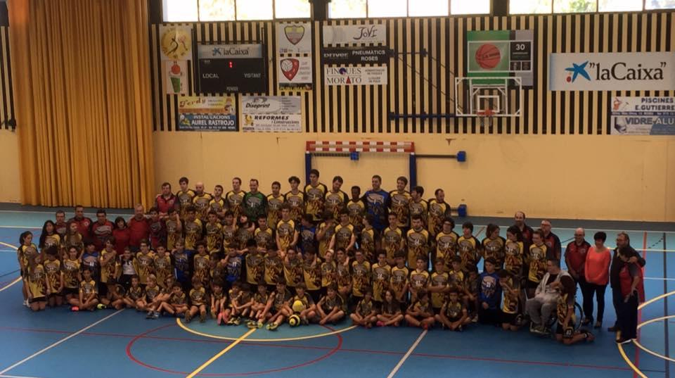 El Club Handbol Empordà presenta els equips de la temporada 2017-2018