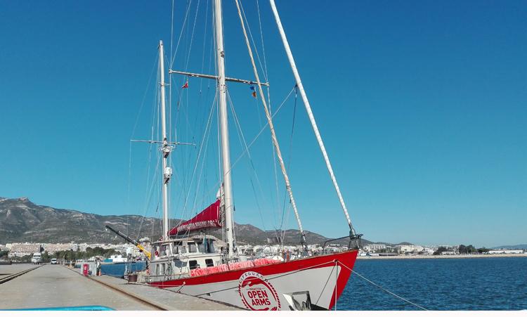 L'Astral d'Open Arms visitarà el Port de Roses de l'11 al 16 de desembre