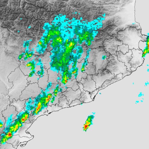 Protecció Civil de la Generalitat activa l'Alerta INUNCAT per les pluges intenses previstes a partir d'aquest matí