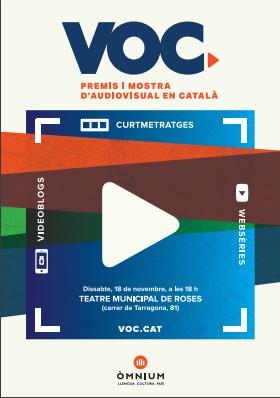 """Roses acull per segon any consecutiu el VOC """"premis a curtmetratges i web-sèries en català"""""""