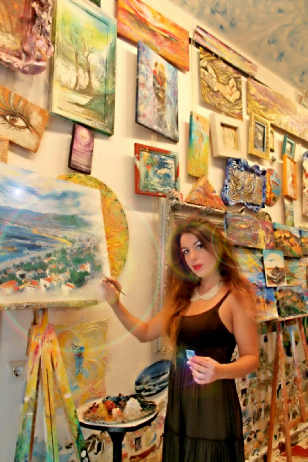 La màgia de Patrícia Soler, a la sala d'exposicions de Ca l'Anita