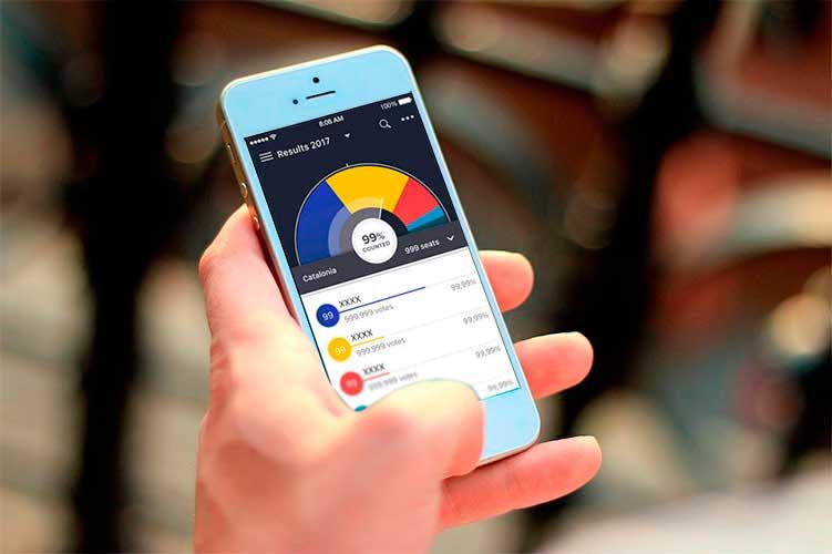 Aplicació Eleccions 21D per a mòbils i tauletes