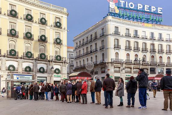 Tres de cada quatre residents a Espanya compren loteria de Nadal