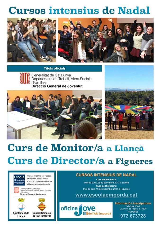 Nou curs de monitors i directors de lleure infantil i juvenil a Figueres i a Llançà