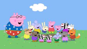 Imatge de la sèrie Peppa Pig. / Clan