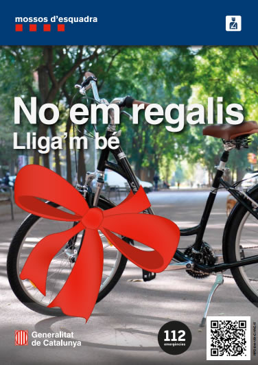 Us hi han sostret la vostra bicicleta?