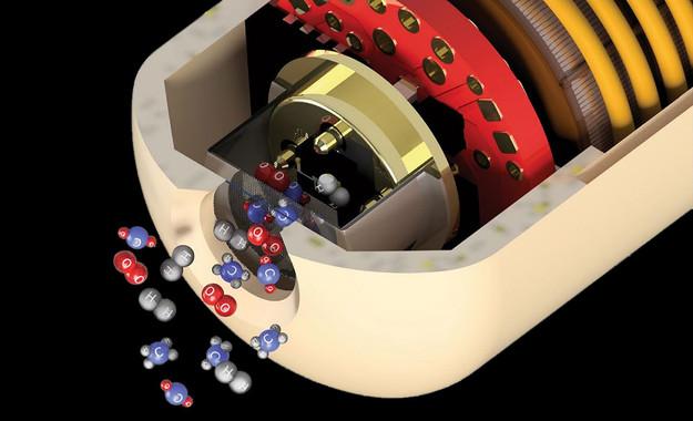 Una càpsula viatja per l'intestí per analitzar els seus gasos