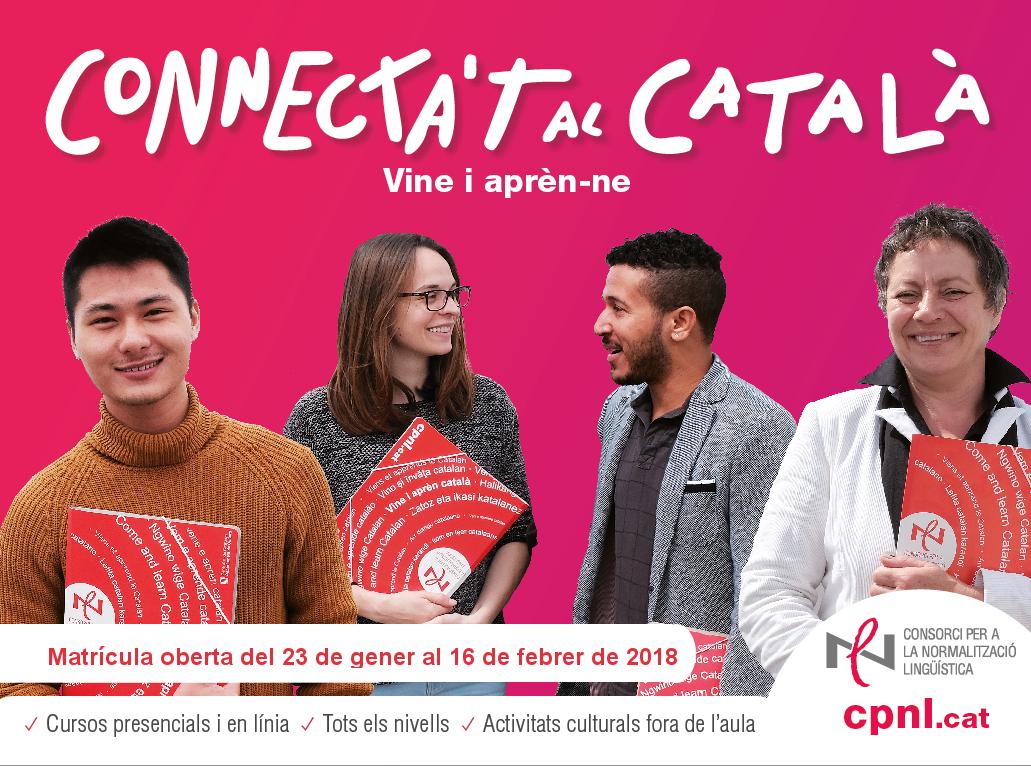 L'Oficina de Català de Roses t'ho posa fàcil: al gener, connecta't al català!