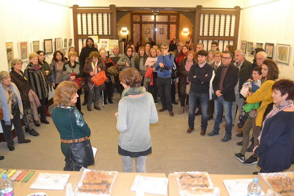 S'inaugura la mostra de pintures sobre botigues de Figueres, que acull la sala d'exposicions del Consell Comarcal