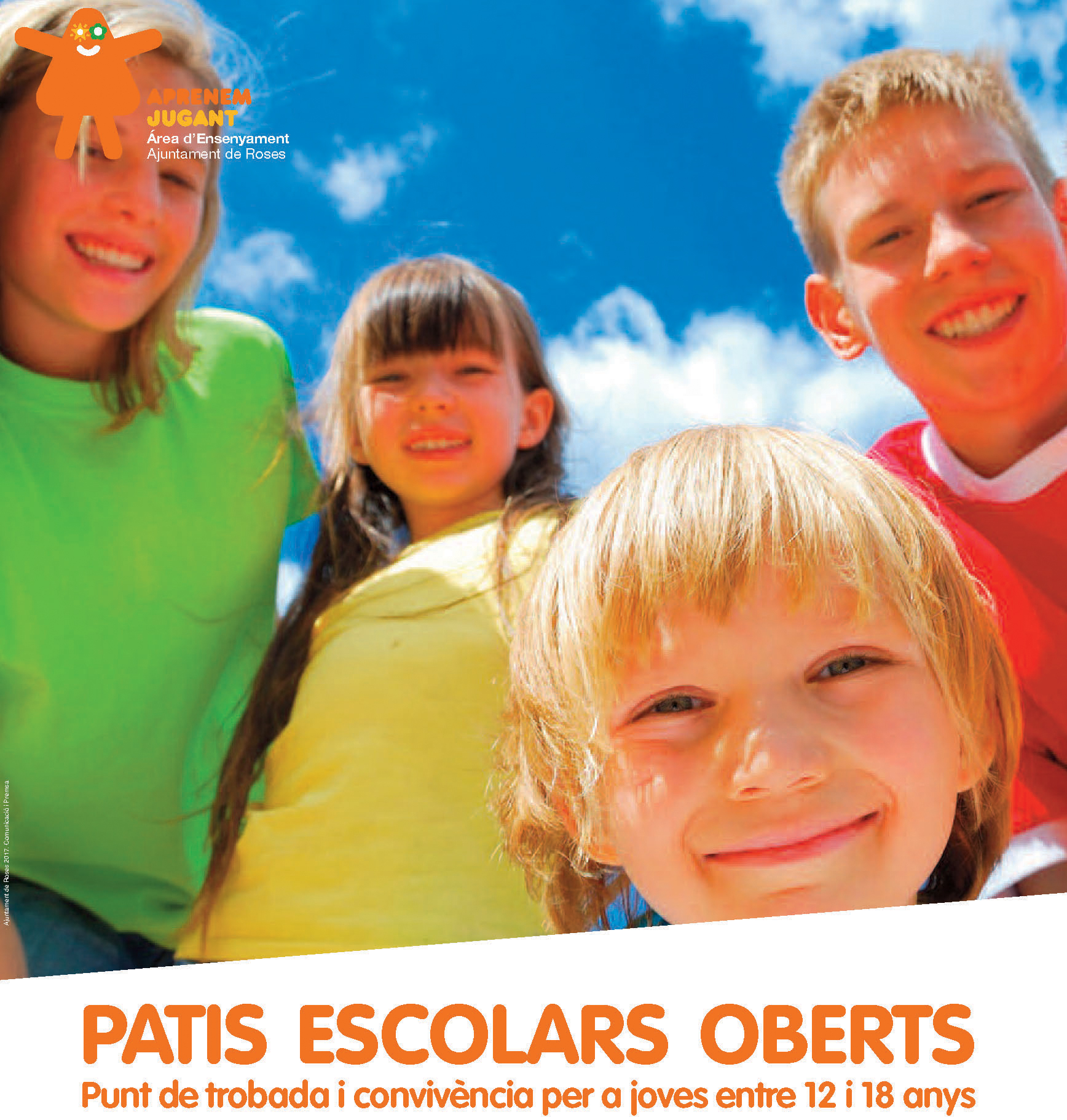 El pati de l'escola Els Grecs s'obre per a joves de 12 a 18 anys quatre tardes a la setmana