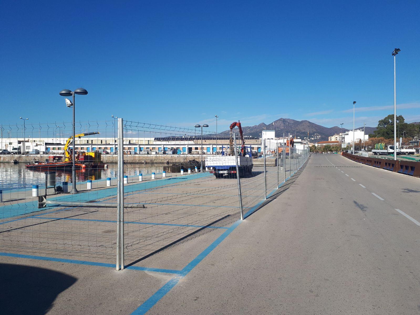Ports de la Generalitat comença les obres de millora al port pesquer de Roses