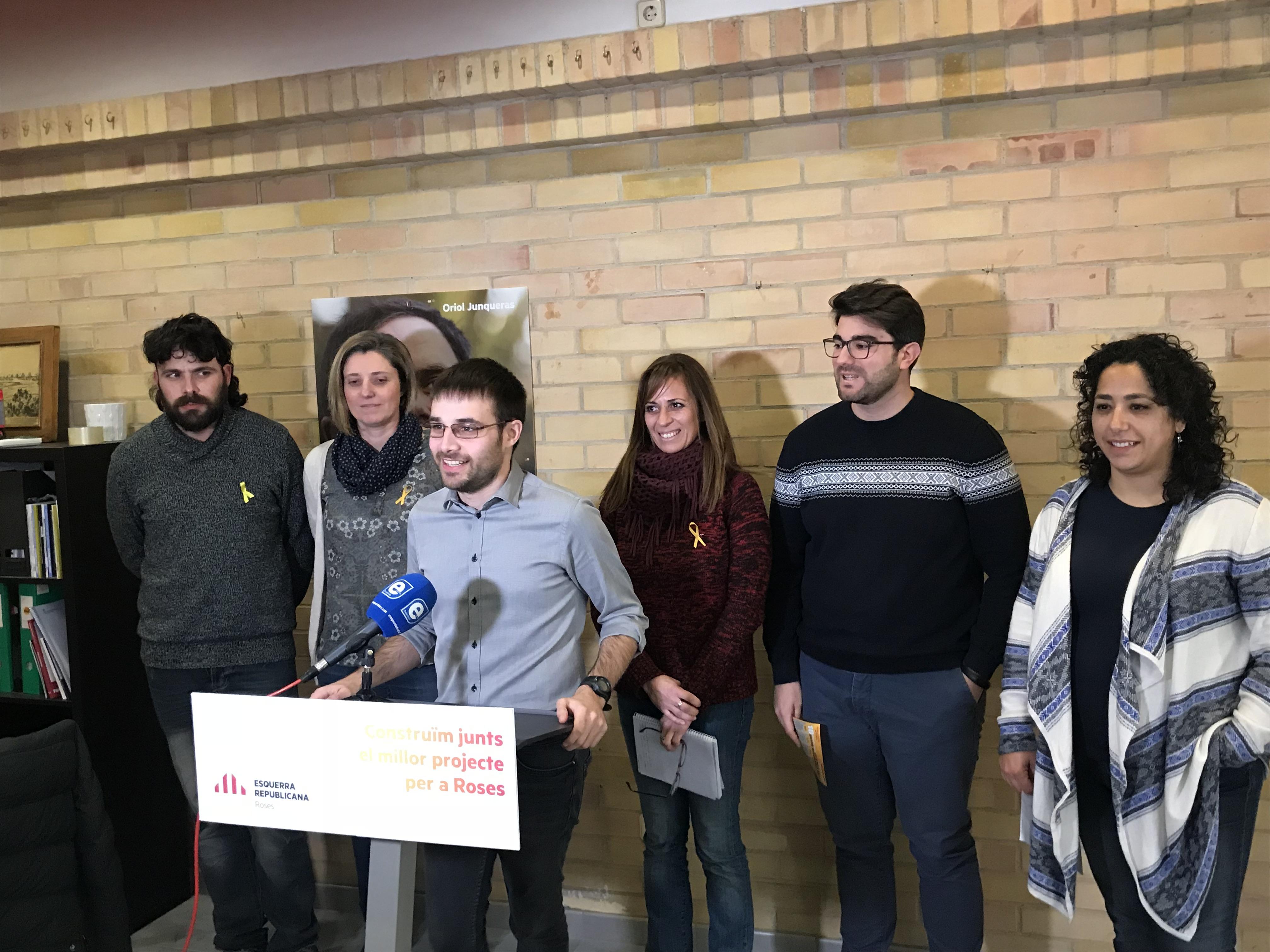 ERC Roses obre a la ciutadania la construcció del seu projecte de ciutat