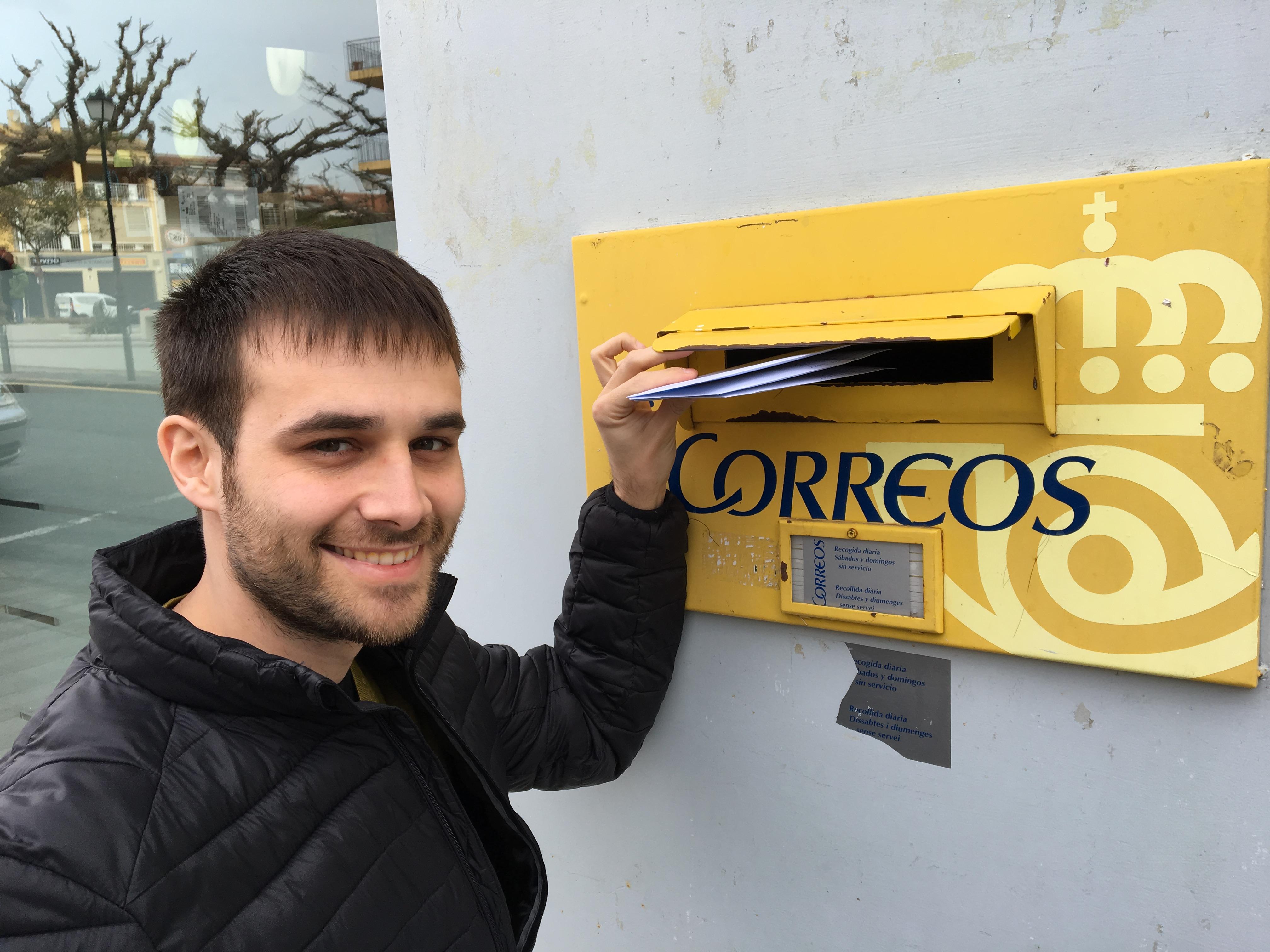 ERC Roses envia cartes de suport a Oriol Junqueras
