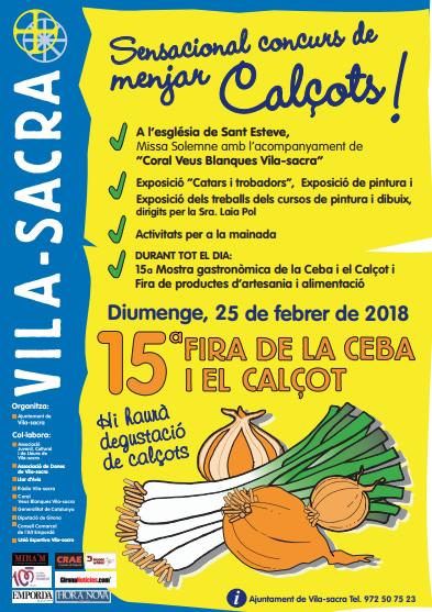 15a Fira de la Ceba i el Calçot a Vila-Sacra