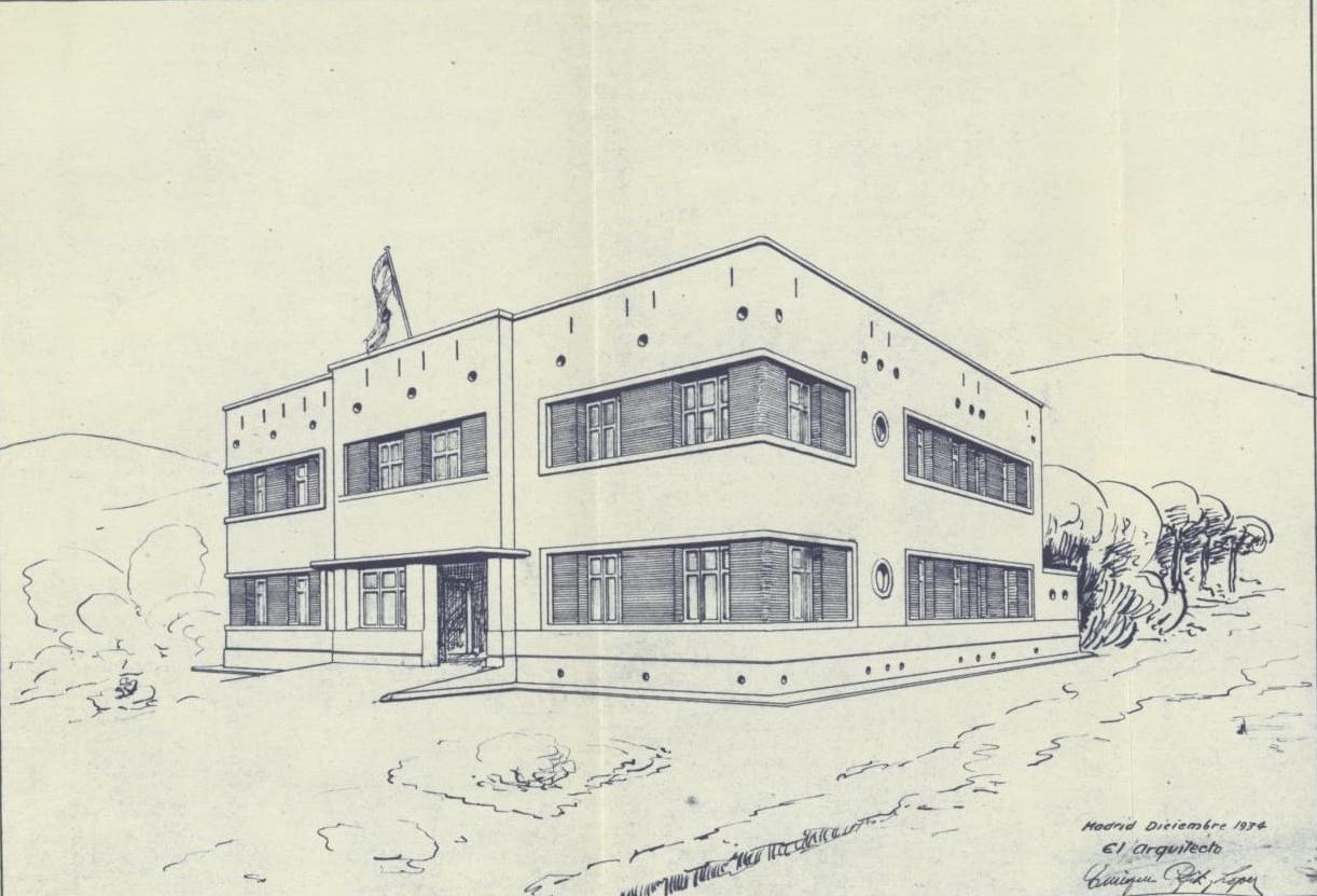 El projecte de caserna de la Guàrdia Civil de l'any 1935, Document del Mes de l'Arxiu de Roses