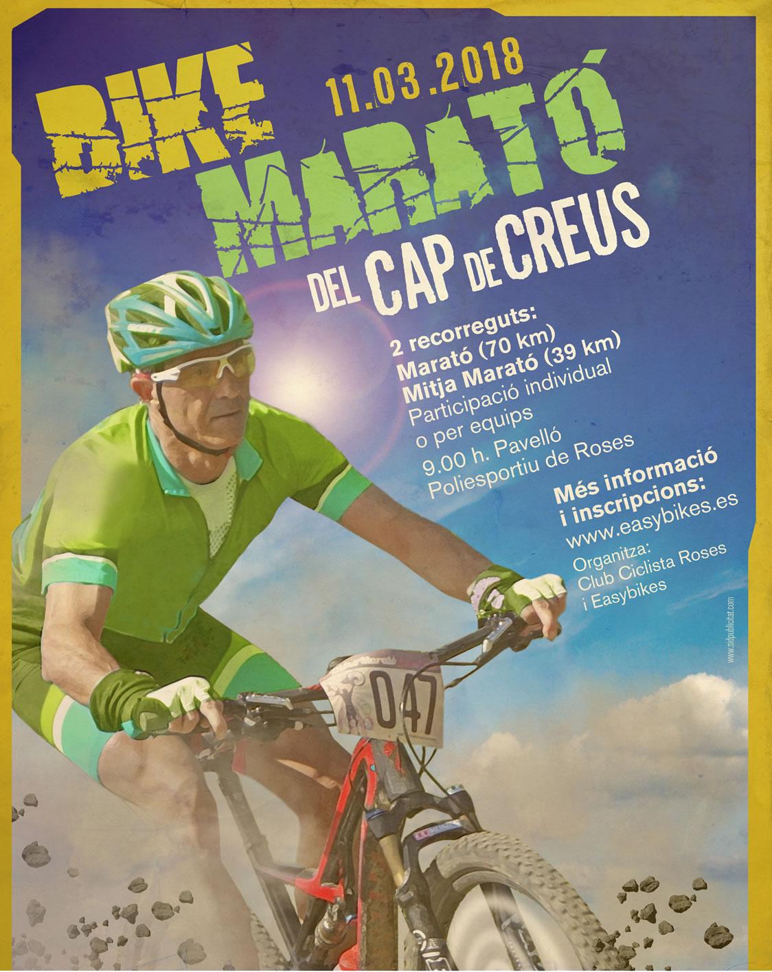 Arriba a Roses la VIII edició de la marxa BTT Bike Marató del Cap de Creus