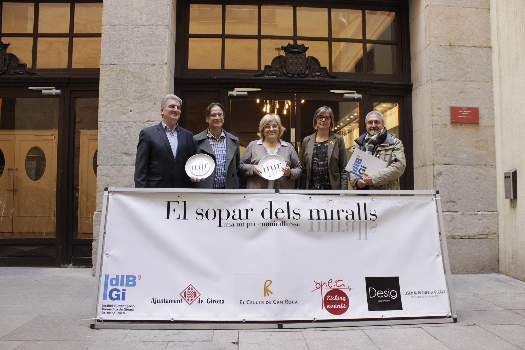 Girona acollirà la iniciativa solidària El Sopar dels Miralls el proper 13 d'abril