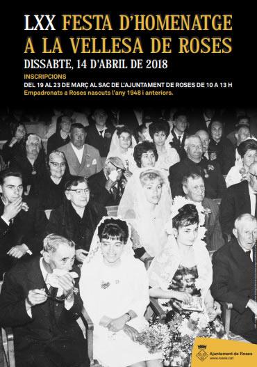 S'obren les inscripcions per participar en la 70a Festa de la Vellesa de Roses