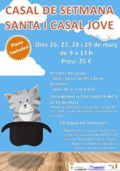 cartell-CASALS-DE-SETMANA-SANTA-2018