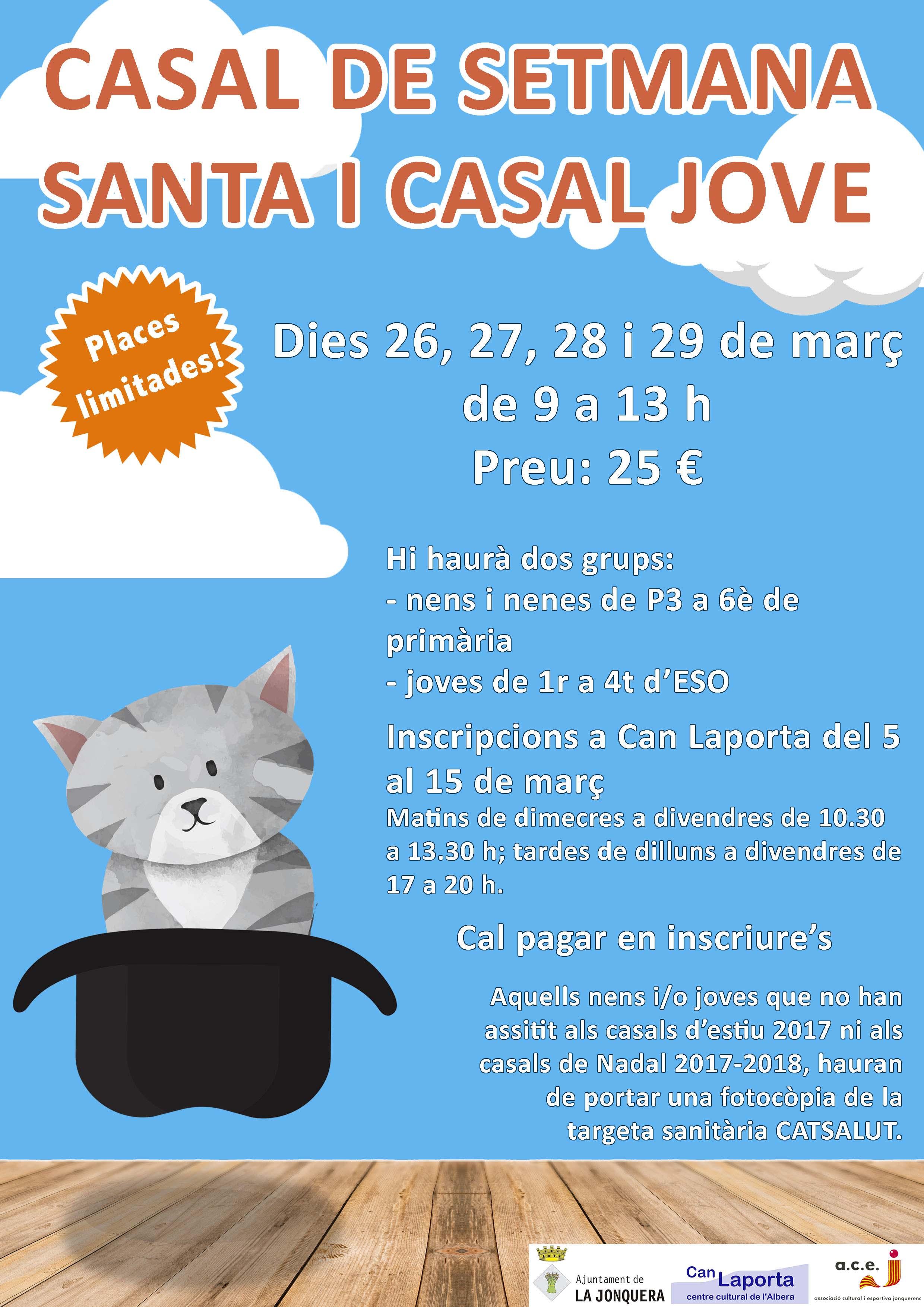 Casal de Setmana Santa i Casal Jove a La Jonquera