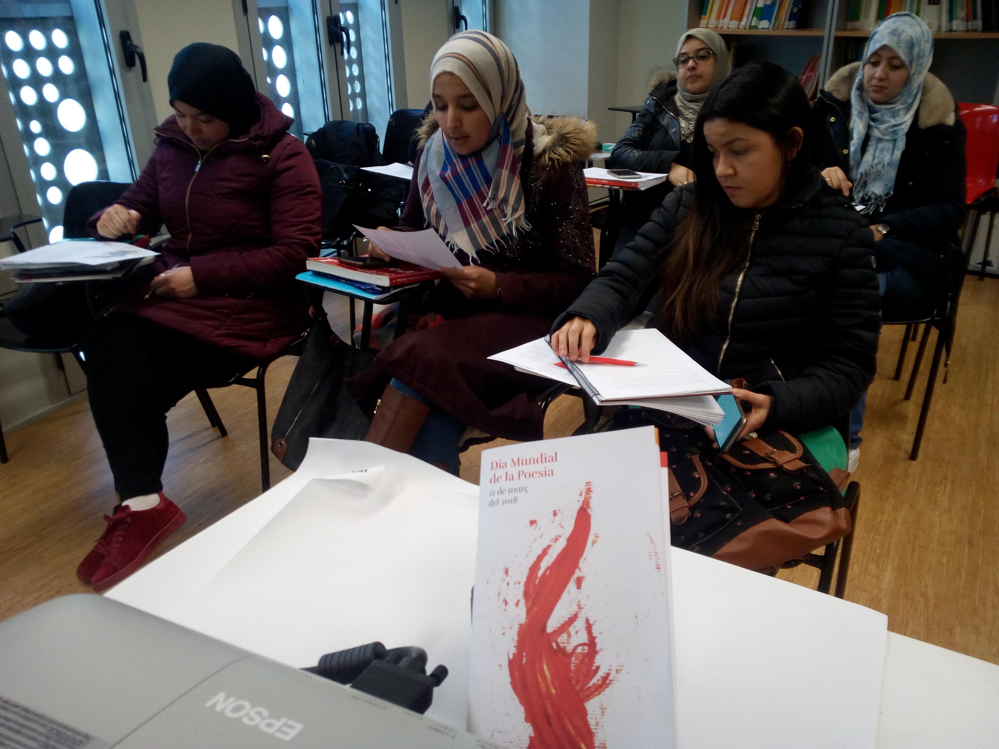 Commemoració del Dia Mundial de la Poesia a l'OC de Roses