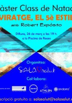 masterclass a la piscina municipal de roses