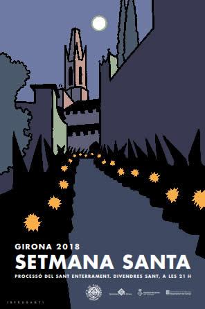 La processó del Sant Enterrament i la desfilada dels Manaies seran les activitats principals de la Setmana Santa a Girona