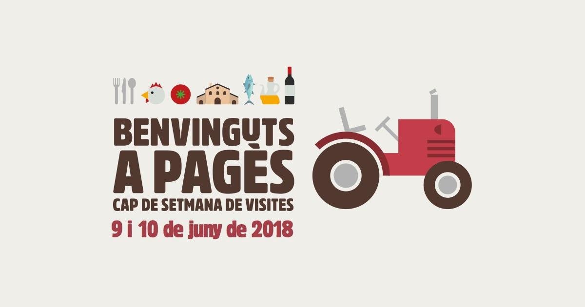 Nova edició del Benvinguts a Pagès, per al cap de setmana del 9 i 10 de juny