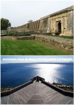 activitats ciutadella i castell de la trinitat de roses.fw