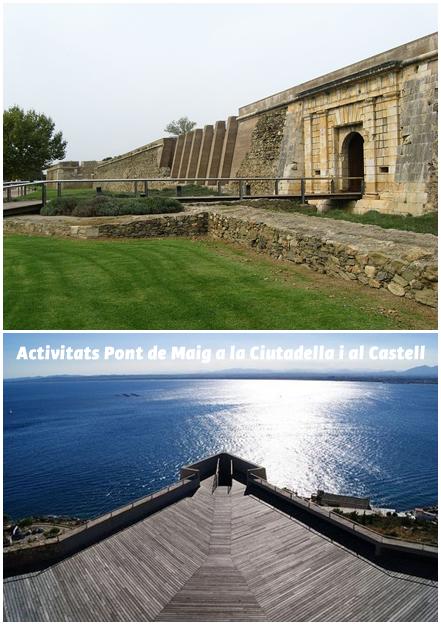 Activitats pel Pont de Maig a la Ciutadella i al Castell de Roses