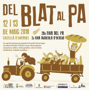 Del blat al pa, un cap de setmana de fires a Castelló d'Empúries