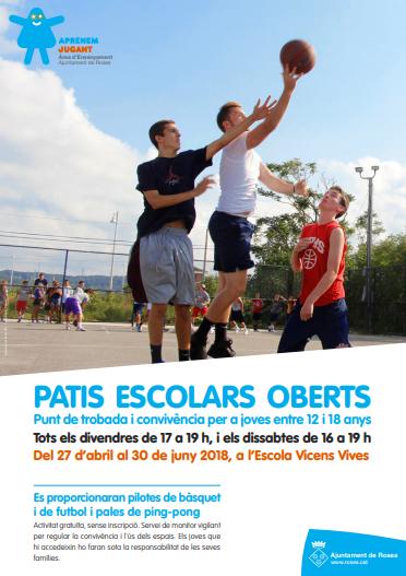 PATIS ESCOLARS OBERTS