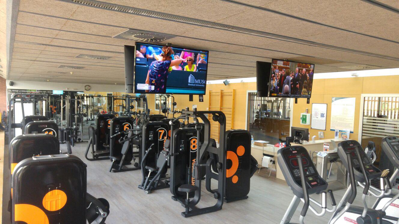 Nova sala de fitness a la Piscina de Roses i nova promoció, amb matrícula gratuïta