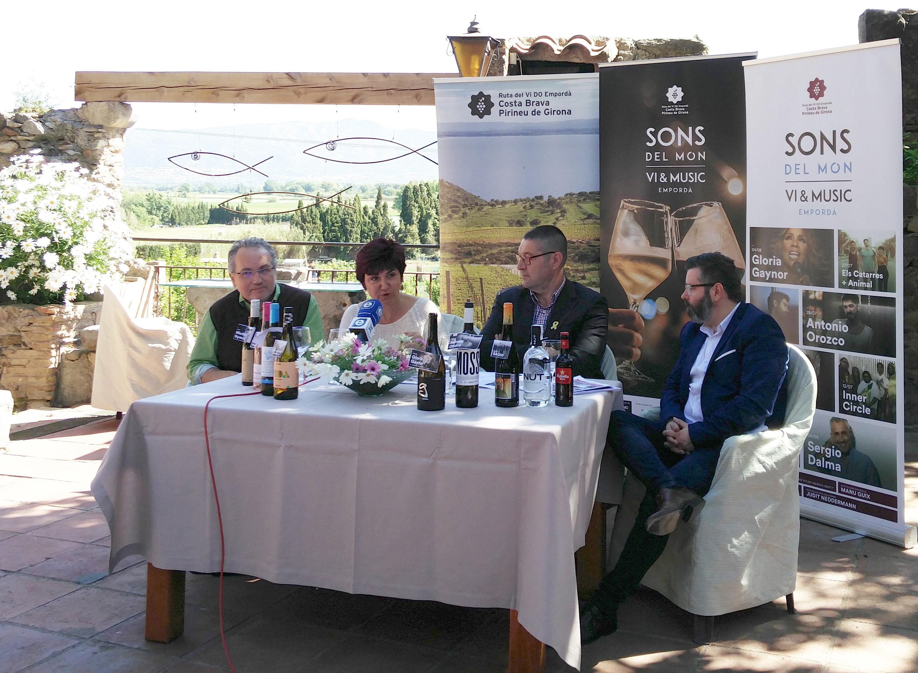 Sons del Món porta Gloria Gaynor, Antonio Orozco, Sergio Dalma i Catarres a la Ciutadella de Roses