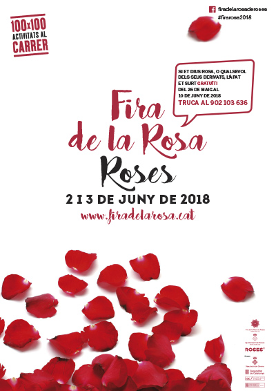 La Fira de la Rosa de Roses torna el 2 i 3 de juny amb espectacles, gastronomia i mostres florals