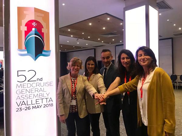 Roses participa en l'Assemblea general de MedCruise amb Costat Brava Cruise Ports