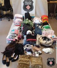 La Policia Municipal de Girona deté dues persones com a presumptes autores de diferents furts