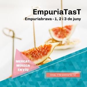 Demà divendres comença la 2ª edició de l'EmpuriaTasT