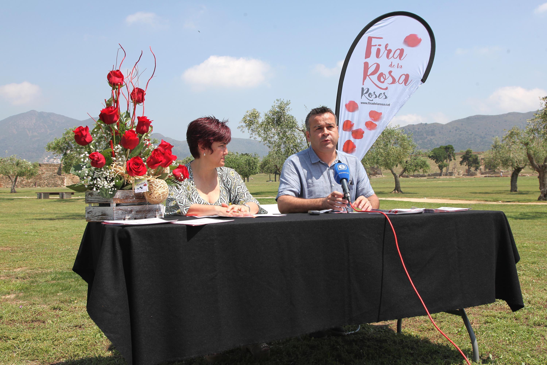 Roses serà una gran festa durant la Fira de la Rosa el 2 i 3 de juny, amb espectacles, gastronomia i mostres florals