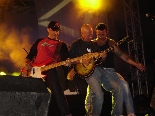 El grup Seguridad Social en concert a Roses