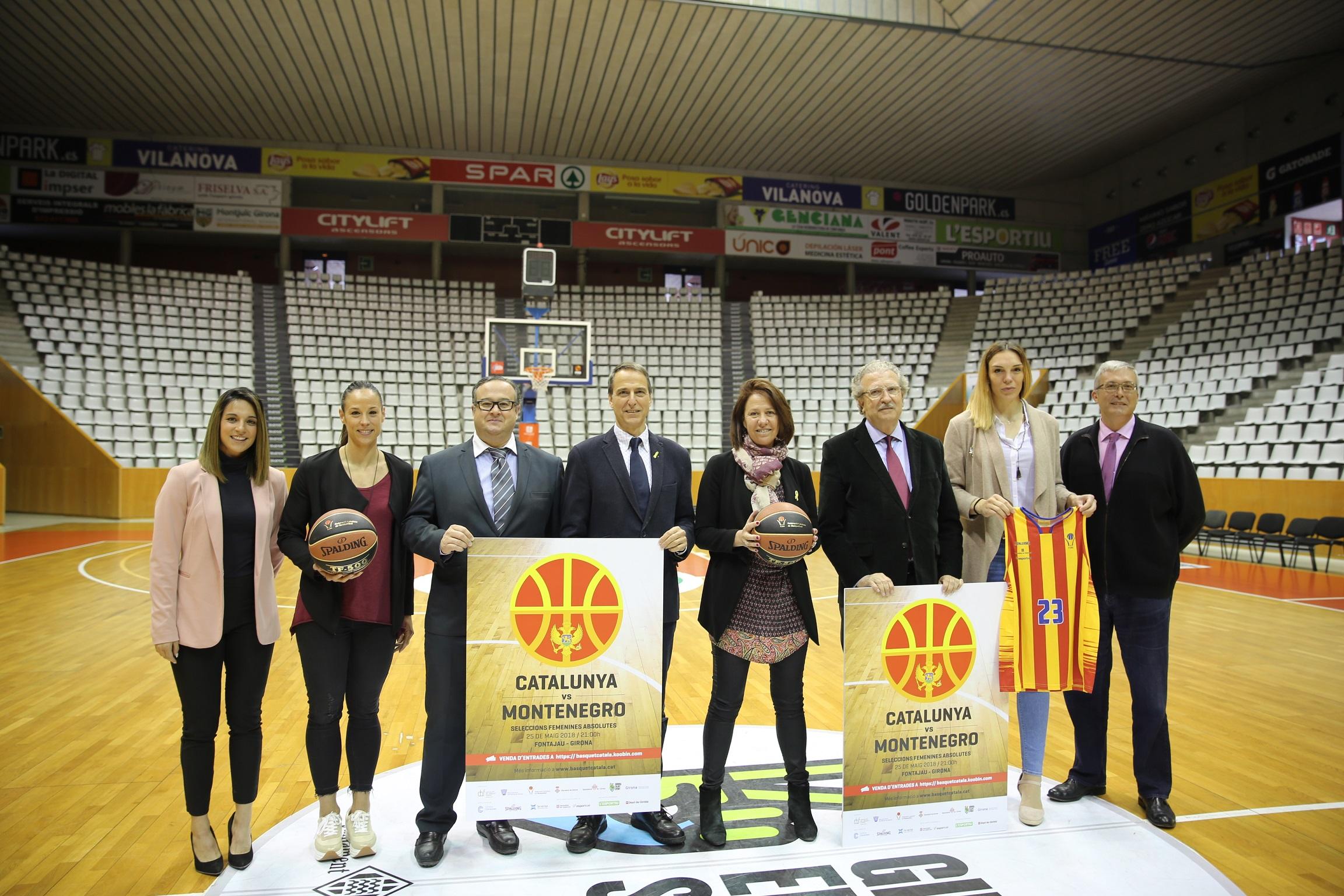 Girona serà l'escenari del retorn de la selecció catalana femenina absoluta de bàsquet després de sis anys