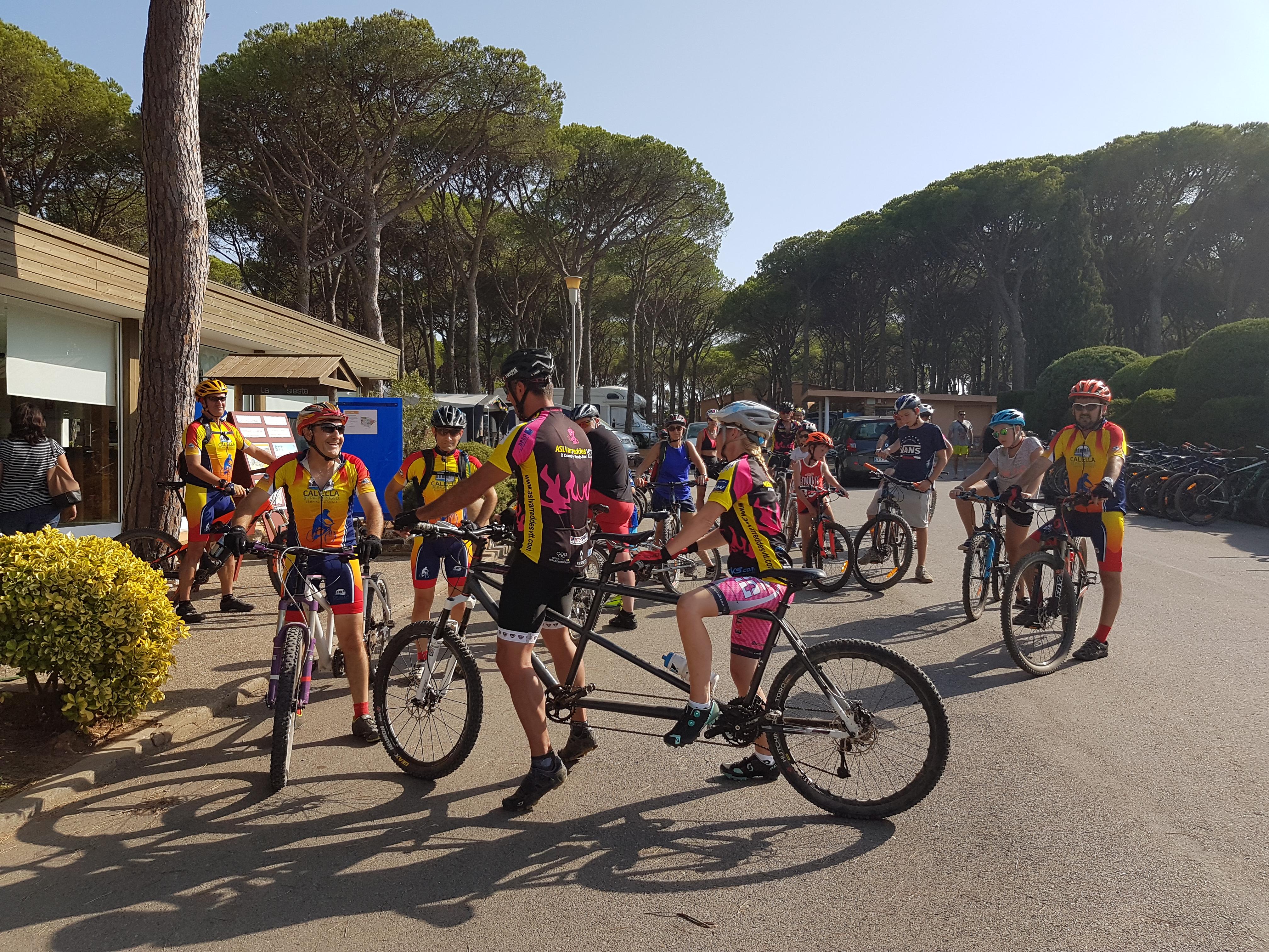 Un 25% dels càmpings gironins s'han especialitzat en cicloturisme